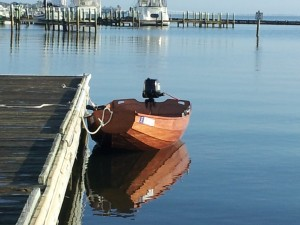 Skiff in the Indian River